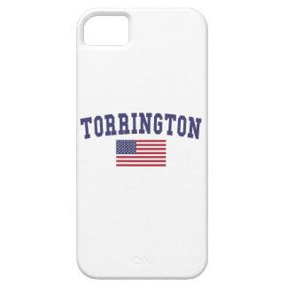 Bandera de Torrington los E.E.U.U. Funda Para iPhone SE/5/5s