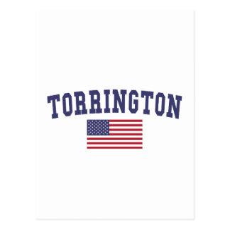 Bandera de Torrington los E.E.U.U. Postal
