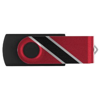 Bandera de Trindadian y de Tobagonian Pen Drive Giratorio USB 2.0