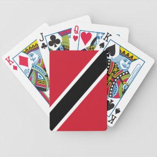 Bandera de Trinidad and Tobago Baraja Cartas De Poker