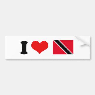 Bandera de Trinidad and Tobago Pegatina Para Auto