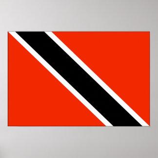 Bandera de Trinidad and Tobago Posters