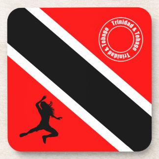 Bandera de Trinidad and Tobago Posavasos