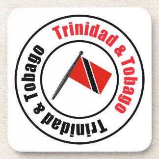 Bandera de Trinidad and Tobago Posavasos De Bebida
