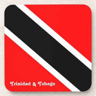 Bandera de Trinidad and Tobago Posavasos De Bebidas