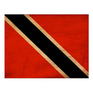 Bandera de Trinidad and Tobago Postales