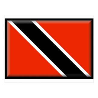 Bandera de Trinidad and Tobago Tarjetas Postales