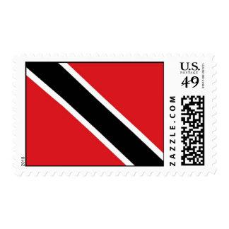 Bandera de Trinidad and Tobago Timbres Postales