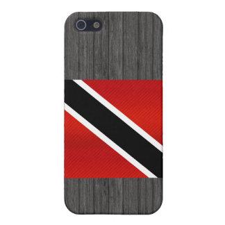 Bandera de Trinidad y Tobago pelada moderna iPhone 5 Protector