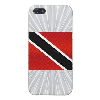 Bandera de Trinidad y Tobago pelada moderna iPhone 5 Carcasa