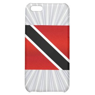 Bandera de Trinidad y Tobago pelada moderna