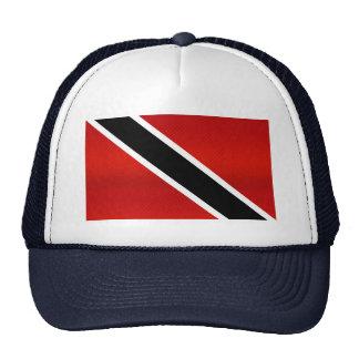 Bandera de Trinidad y Tobago pelada moderna Gorro De Camionero