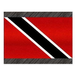 Bandera de Trinidad y Tobago pelada moderna Tarjeta Postal