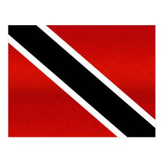 Bandera de Trinidad y Tobago pelada moderna Postal