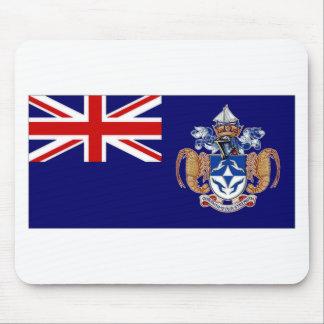 Bandera de Tristan DA Cunha Alfombrillas De Ratón