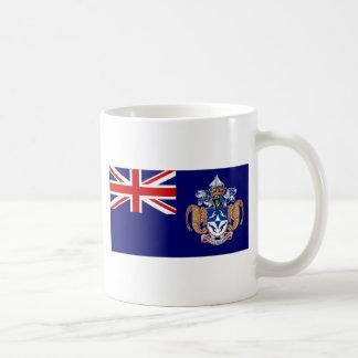 Bandera de Tristan DA Cunha Tazas De Café