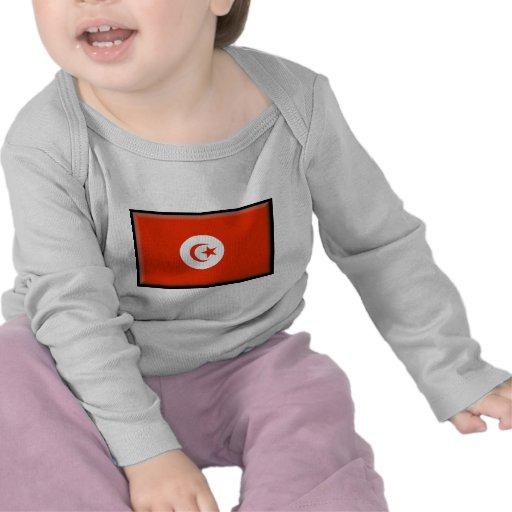 Bandera de Túnez Camisetas
