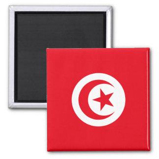 Bandera de Túnez Imán Cuadrado