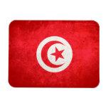 Bandera de Túnez Imán De Vinilo
