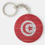 Bandera de Túnez Llaveros Personalizados