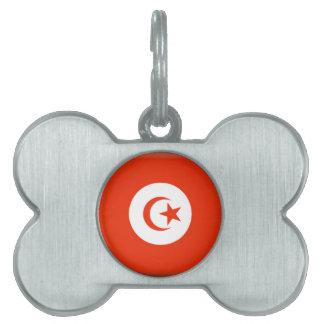 Bandera de Túnez Placa Mascota