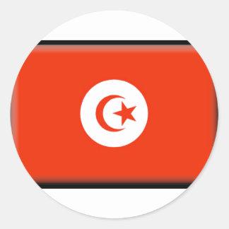 Bandera de Túnez Pegatinas