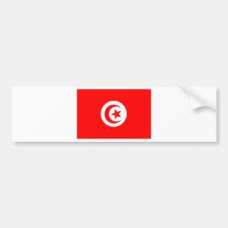 Bandera de Túnez Pegatina Para Auto