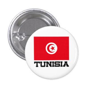 Bandera de Túnez Pin Redondo 2,5 Cm