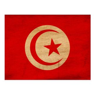 Bandera de Túnez Postales