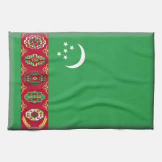 Bandera de Turkmenistán Toallas