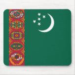 Bandera de Turkmenistán Tapete De Ratón