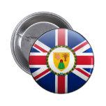 Bandera de Turks and Caicos Islands Pin