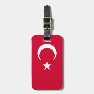 Bandera de Turquía Etiquetas Maleta