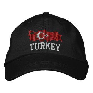 Bandera de Turquía Gorra De Beisbol Bordada