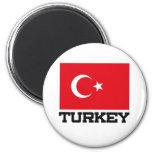 Bandera de Turquía Imán De Frigorifico