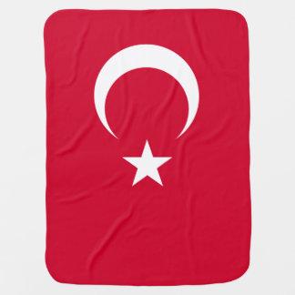 Bandera de Turquía Mantas De Bebé