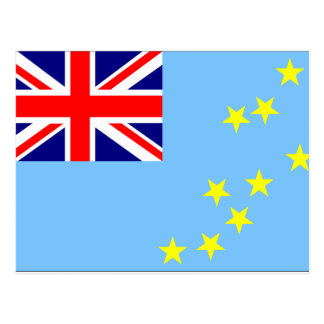 Bandera de Tuvalu Postales