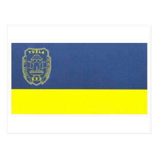 Bandera de Tuzla Tarjetas Postales