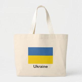 Bandera de Ucrania Bolsa De Mano