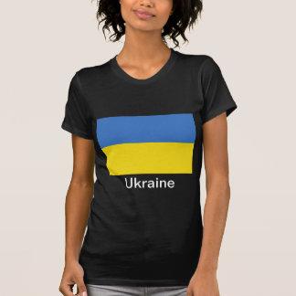 Bandera de Ucrania Camiseta