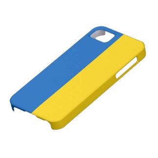 Bandera de Ucrania iPhone 5 Carcasas