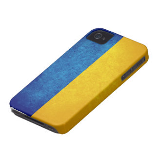 Bandera de Ucrania iPhone 4 Case-Mate Cárcasas