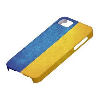 Bandera de Ucrania iPhone 5 Protectores