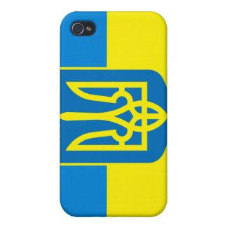 Bandera de Ucrania iPhone 4 Carcasa