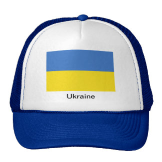 Bandera de Ucrania Gorro