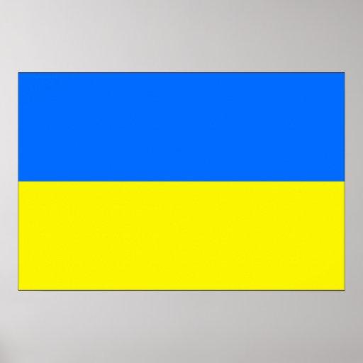 Bandera de Ucrania Impresiones
