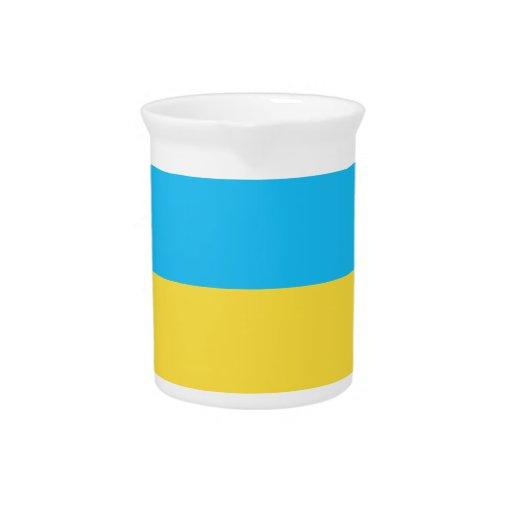 Bandera de Ucrania Jarras