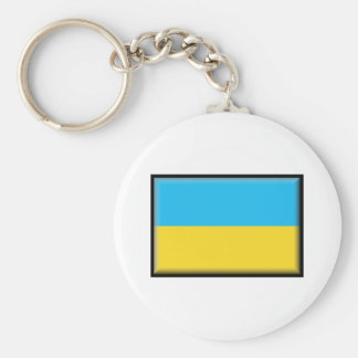 Bandera de Ucrania Llaveros Personalizados