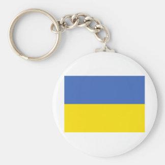 Bandera de Ucrania Llavero Personalizado