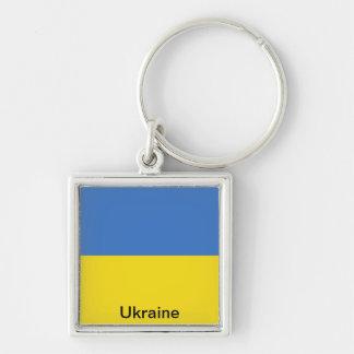 Bandera de Ucrania Llaveros
